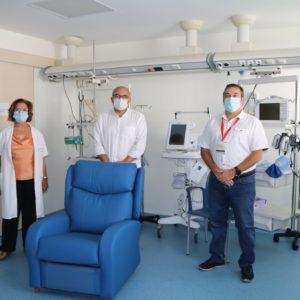 Sillones para el Hospital Molina Orosa