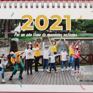 Calendario Solidario Pequeño Valiente